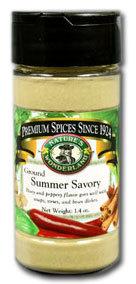 Summer Savory - Ground, 1.4 oz