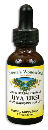 Uva Ursi Liquid Extract, 1 fl oz / 30ml (Nature's Wonderland)