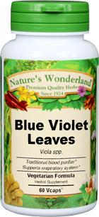 Violet Leaf, Blue, Capsules 60 Vcaps™ - 525 mg