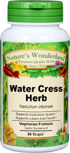 Water Cress Capsules - 500 mg, 60 Vcaps™ (Nasturtium officinale)