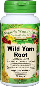 Wild Yam Root Capsules - 575 mg, 60 Vcaps™  (Dioscorea villosa)