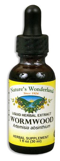 Wormwood Liquid Extract, 1 fl oz  / 30ml (Nature's Wonderland)