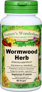Wormwood Capsules - 325 mg, 60 Vcaps™ (Artemisia absinthium)