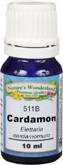 Cardamon Essential Oil - 10 ml (Elettaria cardamomum)