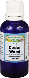 Texas Cedar Wood Essential Oil - 30 ml (Juniperus mexicana)
