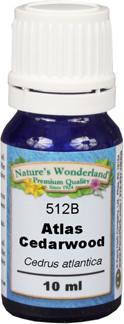 Atlas Cedarwood Essential Oil - 10 ml (Cedrus atlantica)