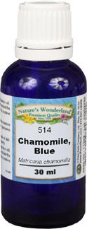 CLEARANCE: Blue Chamomile Essential Oil - 30 ml (Matricaria chamomilla)