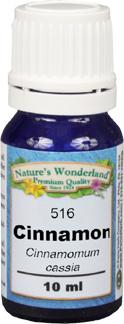 Cinnamon Essential Oil, Cassia - 10 ml  (Cinnamomum aromaticum / Cinnamomum cassia)