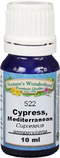 Cypress, Mediterranean Oil -10 ml (Cupressus sempervirens)