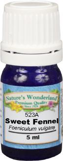 Fennel Essential Oil, Sweet - 5 ml (Foeniculum vulgare)