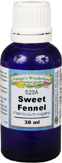 Fennel Essential Oil, Sweet  - 30 ml (Foeniculum vulgare)