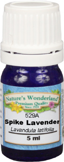 Spike Lavender Essential Oil -5 ml (Lavandula latifolia)