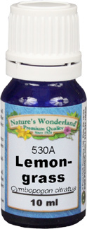 Lemongrass Essential Oil - 10 ml (Cymbopogon citratus)