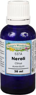 Neroli Essential Oil - 30 ml (Citrus aurantium)