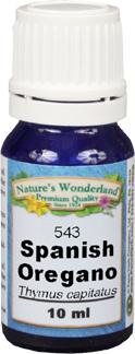 Oregano Essential Oil, Spanish - 10 ml (Thymus capitatus)