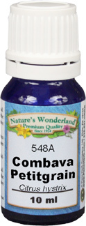 Combava Petitgrain Essential Oil - 10 ml (Citrus hystrix)