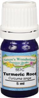 Turmeric Root Essential Oil - 5 ml (Curcuma longa)