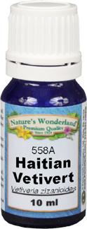 Vetivert Essential Oil, Haitian - 10 ml (Vetiveria zizanioides)