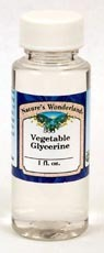 Vegetable Glycerine, 1fl oz