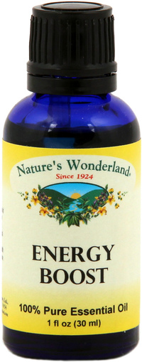 Energy Boost Essential Oil Blend 30 Ml Nature S