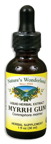 Myrrh Liquid Extract, 1 fl oz / 30ml (Nature's Wonderland)