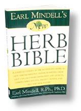 New Herb Bible by Earl Mindell R.Ph., Ph.D. (Small Print)