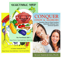 Vegetable Soup - The Fruit Bowl + FREE Conquer Colds Booklet