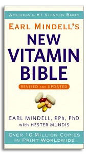 New Vitamin Bible by Earl Mindell, R.Ph., Ph.D. (584 Pages)