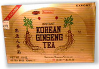 Korean Ginseng Instant Tea, 100 - 0.1 oz packets (Superior Trading Co.)