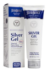 Silverbiotics™ Silver Gel - 20 ppm, 1.5 fl oz / 44ml (American Biotech Labs)