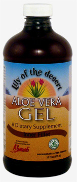 Aloe Vera Gel, Inner Fillet - 32 fl oz (Lily of the Desert)