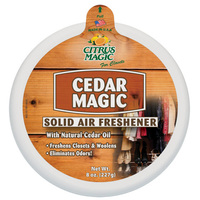 Cedar Magic Solid Air Freshener, 8 oz