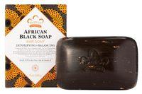 African Black Soap Bar, 5 oz / 141g (Nubian Heritage)