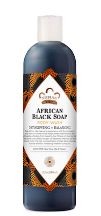 African Black Soap Body Wash, 13 fl oz /384 ml (Nubian Heritage)