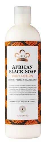 African Black Soap Lotion, 13 fl oz / 384 ml (Nubian Heritage)