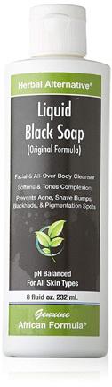 Liquid Black Soap,  8 fl oz (African Formula)
