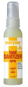 Everyone® Hand Sanitizer Spray - Coconut & Lemon , 2 fl oz / 60 ml (EO Products)