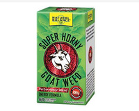 Super Horny Goat Weed, 60 Vegcaps (Natural Balance)