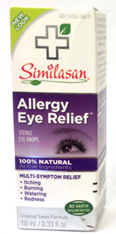 Allergy Eye Relief Drops, 0.33 fl oz / 10ml (Similasan)
