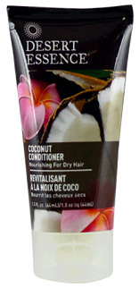 Coconut Conditioner - Travel Size, 1.5 fl oz /44ml (Desert Essence)