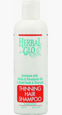 Herbal Glo Thinning Hair Shampoo, 8 fl oz / 250ml