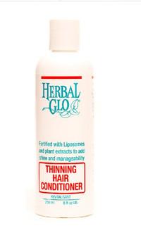 Herbal Glo Thinning Hair Conditioner, 8 fl oz / 250ml