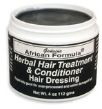 Herbal Hair Treatment and Conditioner, 4 oz / 112gm (African Formula)