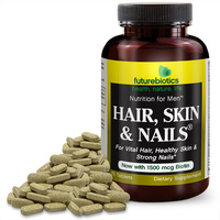Hair Skin & Nails For Men, 75 tablets (Futurebiotics)