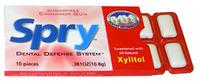 Spry® Xylitol Gum - Cinnamon, 10 pieces