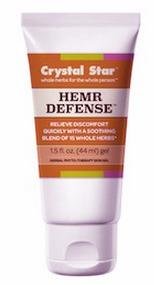 Hemr Defense™ Gel, 1.5 oz / 44 ml (Crystal Star)