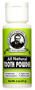 Tooth Powder, 2 oz / 57g (Uncle Harry's)
