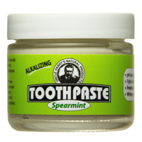 Spearmint Toothpaste, 3 oz / 85g (Uncle Harry's)
