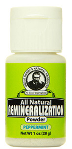 Remineralization Powder - Peppermint, 1 oz/ 28g (Uncle Harry's)