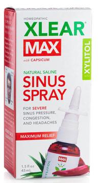 Xlear® Max Saline Sinus Spray, 1.5 fl oz /45ml